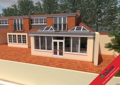 Thistle Home Extensions Aberdeen 3D Design Example 43