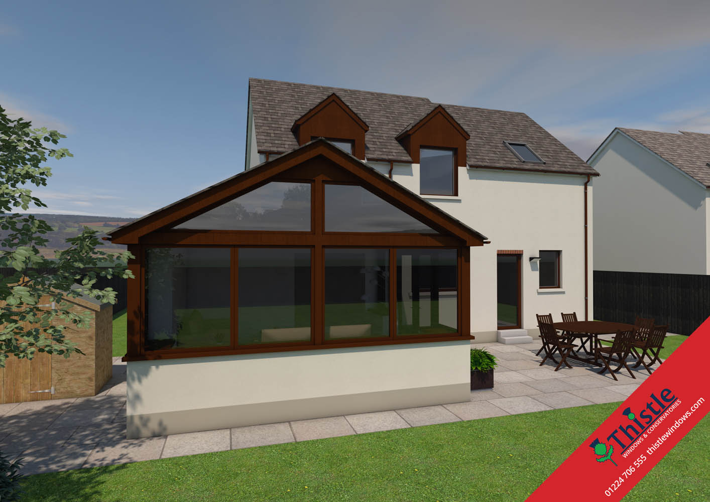 thistle home extensions aberdeen 3d design example 44 thistle windows doors conservatories