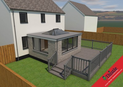 Thistle Home Extensions Aberdeen 3D Design Example 5