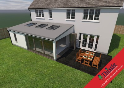 Thistle Home Extensions Aberdeen 3D Design Example 71