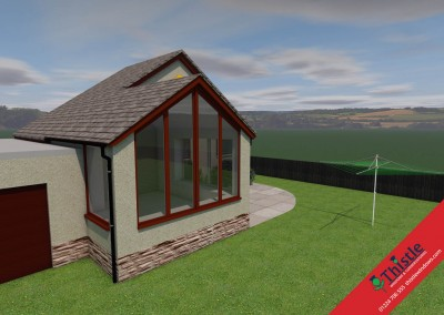 Thistle Home Extensions Aberdeen 3D Design Example 8