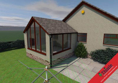 Thistle Home Extensions Aberdeen 3D Design Example 9