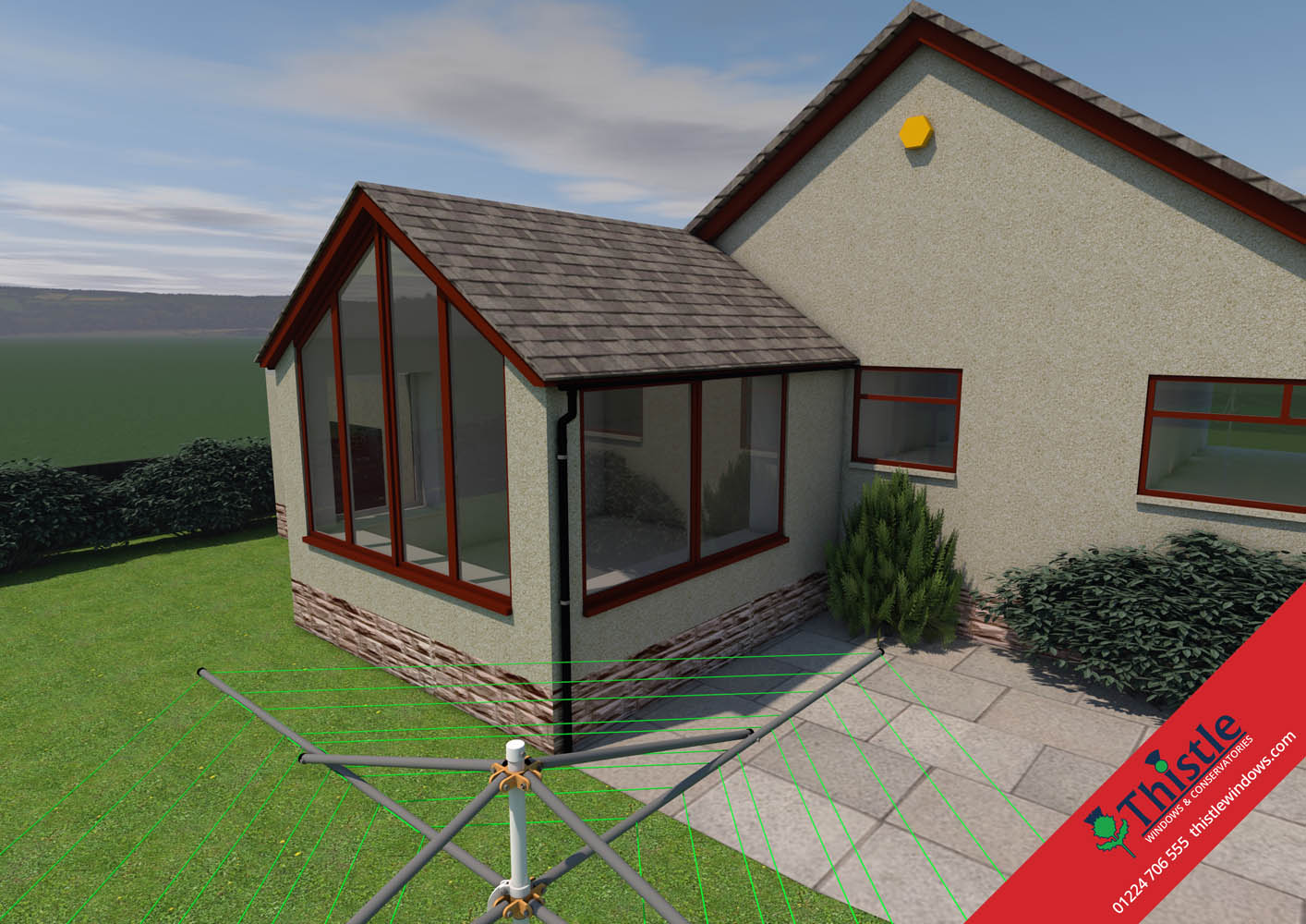 Thistle Home Extensions Aberdeen 3D Design Example 9 Thistle Windows ...