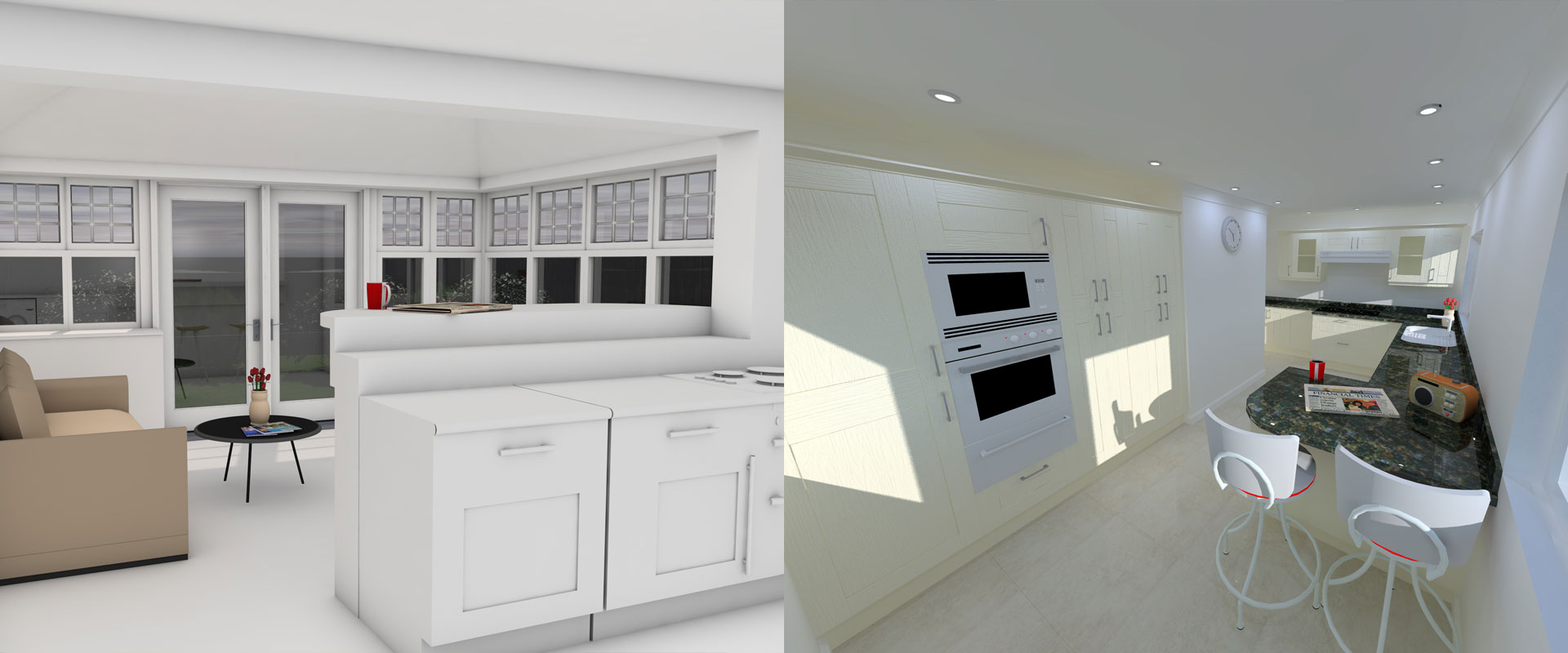 Thistle Kitchen Extension Aberdeen Design