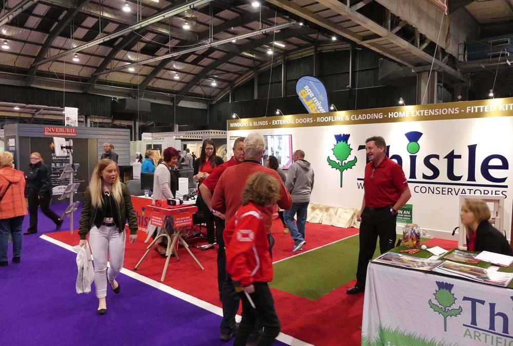 Thistle in the Spotlight at The Scottish Home Show