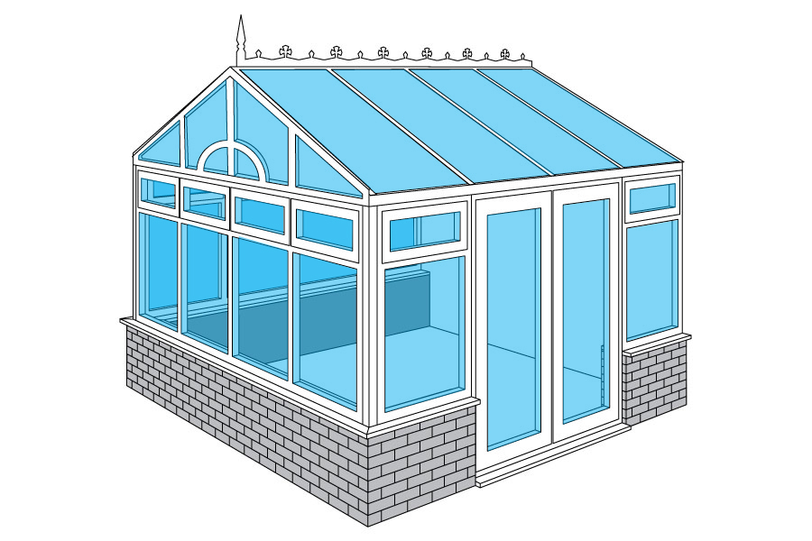 Edwardian Gable Conservatories for Aberdeen, Aberdeenshire & North East Scotland