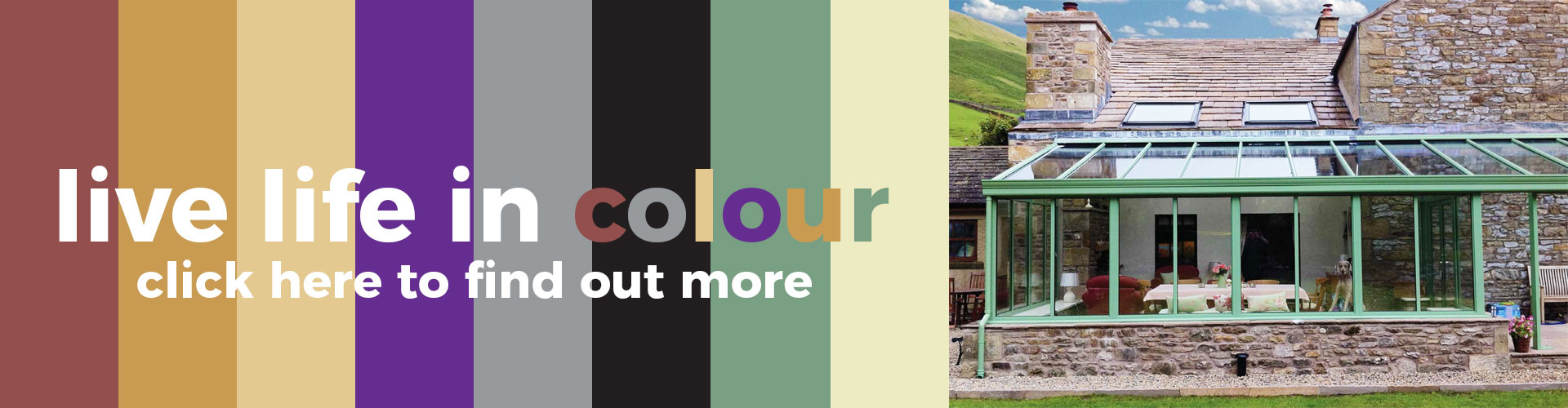 Thistle Home Extensions Aberdeen & Aberdeenshire Colour Options