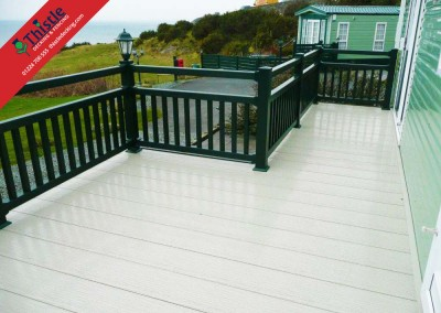 Thistle Decking Aberdeen, Aberdeenshire & North East Scotland: Installation Example 1