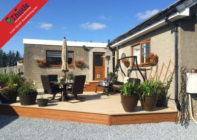 Thistle Decking Aberdeen, Aberdeenshire & North East Scotland: Installation Example: 11