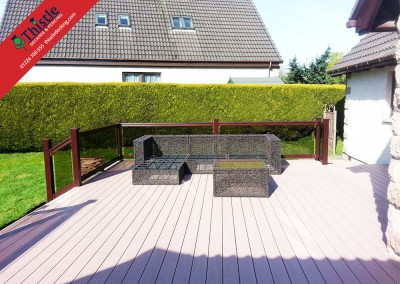 Thistle Decking Aberdeen, Aberdeenshire & North East Scotland: Installation Example: 2
