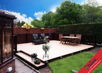 Thistle Decking Aberdeen, Aberdeenshire & North East Scotland: Installation Example: 4