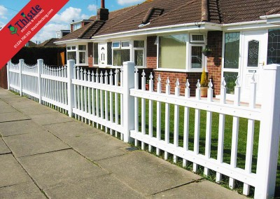 Thistle Fencing Aberdeen, Aberdeenshire & North East Scotland: Installation Example 1