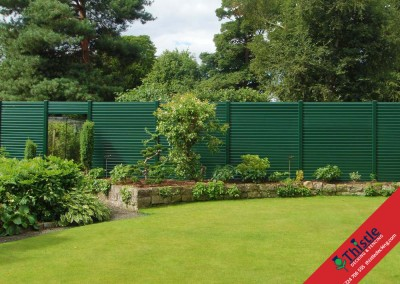 Thistle Fencing Aberdeen, Aberdeenshire & North East Scotland: Installation Example 2
