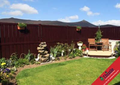 Thistle Fencing Aberdeen, Aberdeenshire & North East Scotland: Installation Example 4