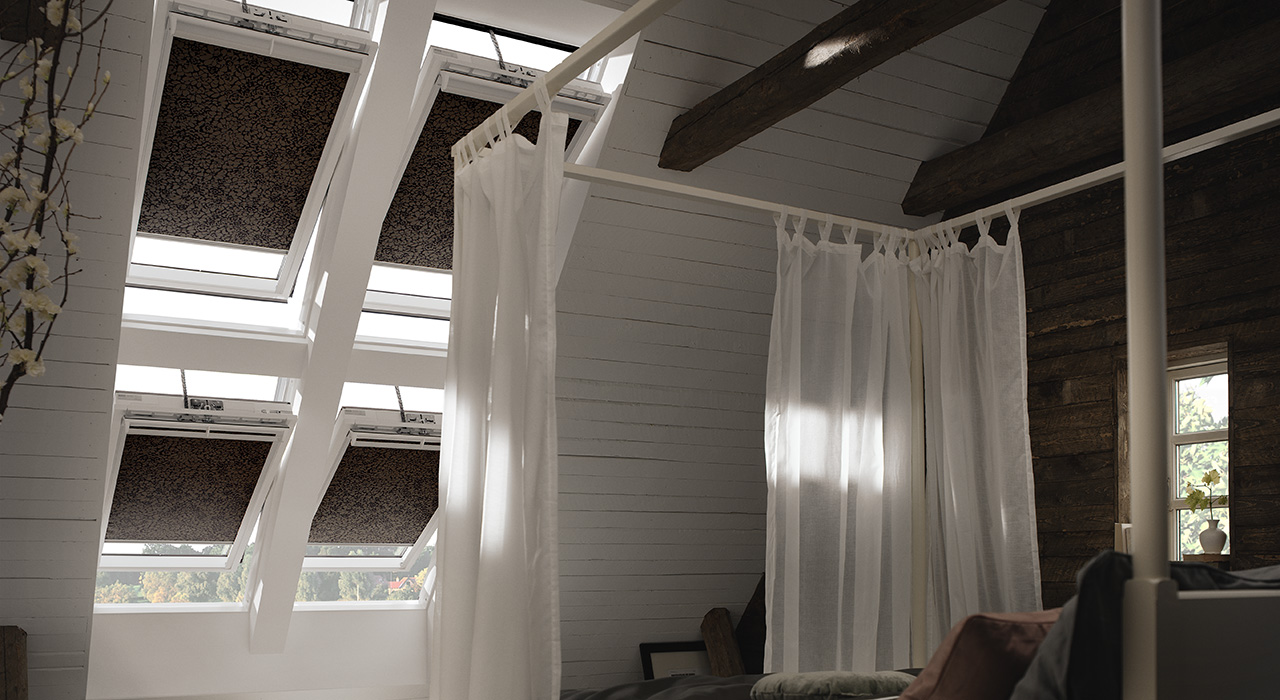 Bedroom VELUX Windows Aberdeen, Aberdeenshire & North East Scotland: Inspiration Example 1