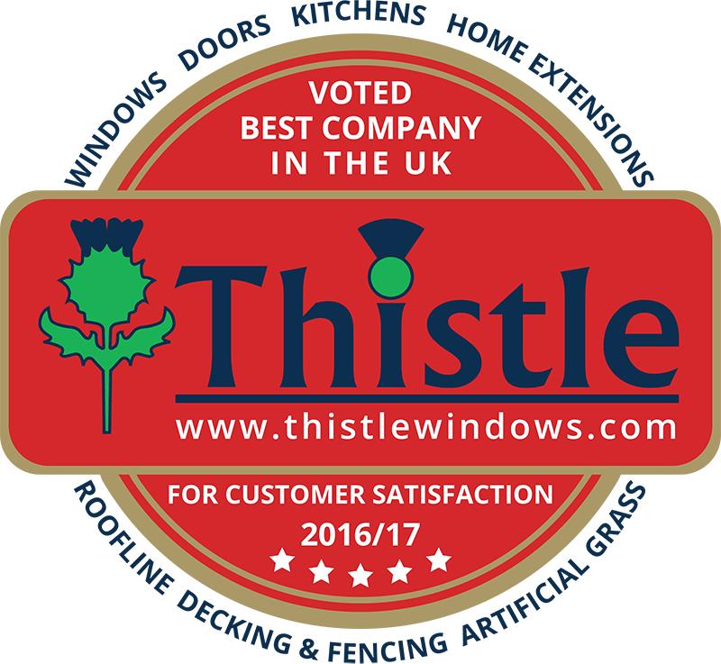 Thistle Windows & Conservatories: UK Customer Satisfaction Award Winner 2016/17