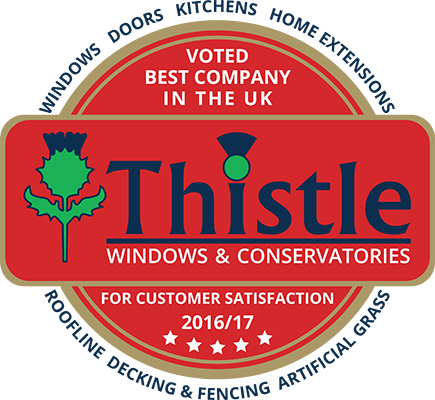 Thistle Windows & Conservatories UK Award Winner 2016