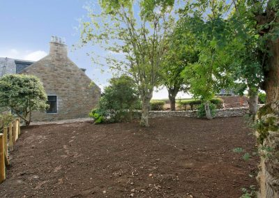Cranfield 6-Bedroom Farmhouse Conversion: Main Garden (to be re-seeded)