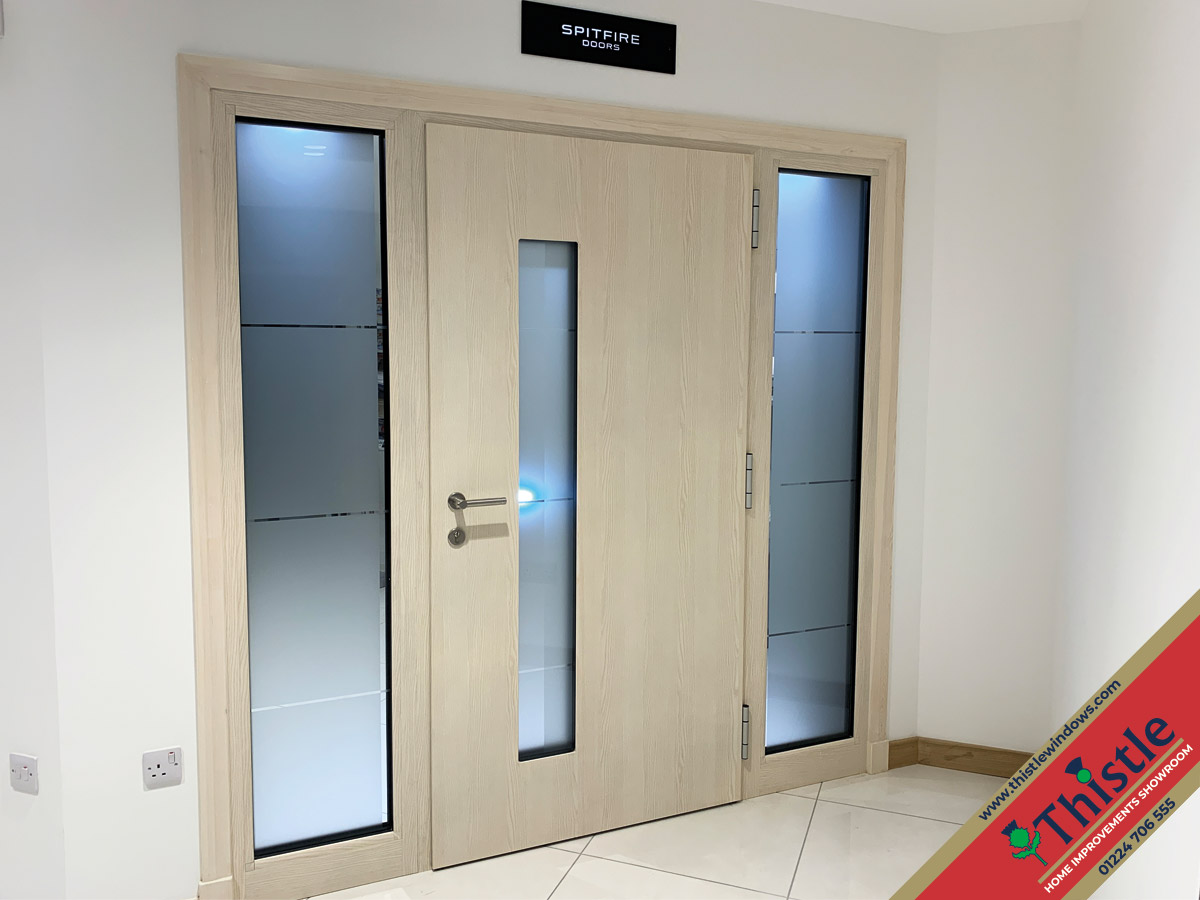 Thistle Home Improvements Showroom Aberdeen: Spitfire Aluminium Doors