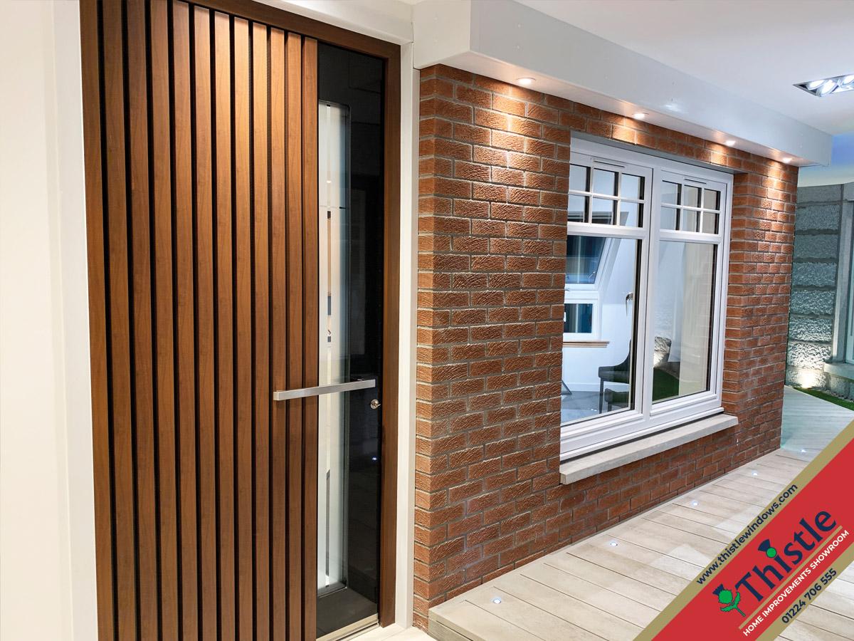 Thistle Home Improvements Showroom Aberdeen: Spitfire Aluminium Doors