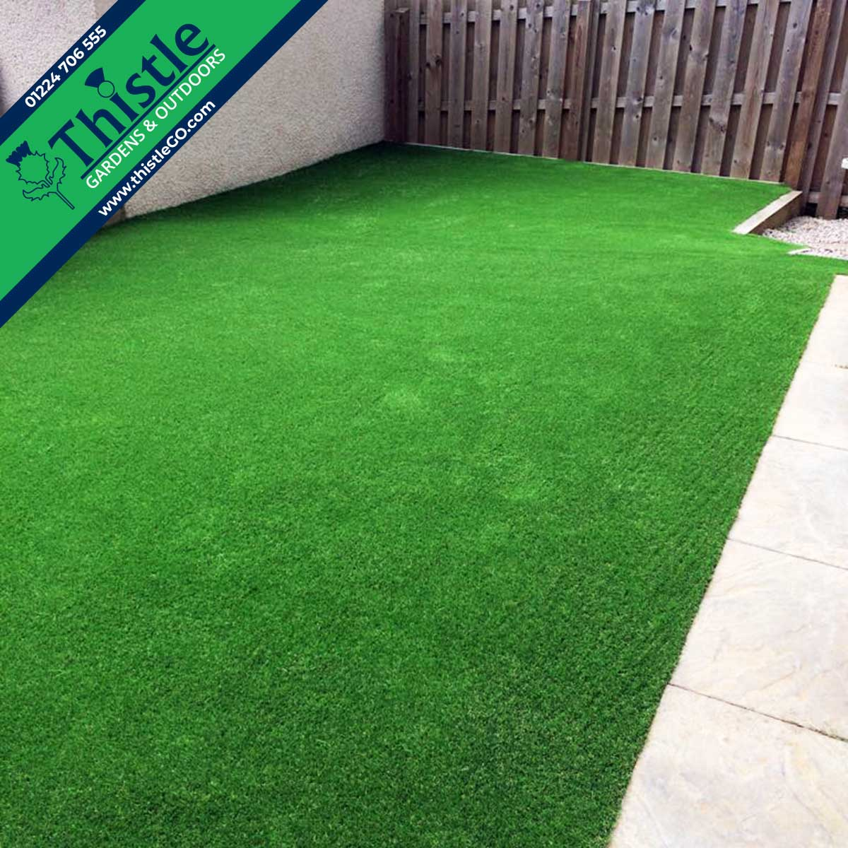Thistle Artificial Grass Aberdeen, Aberdeenshire & North East Scotland: Back Gardens