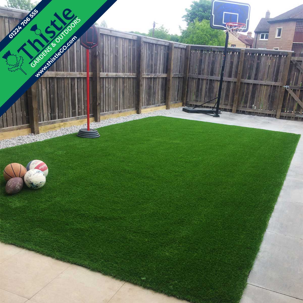 Thistle Artificial Grass Aberdeen, Aberdeenshire & North East Scotland: Children's Play Areas