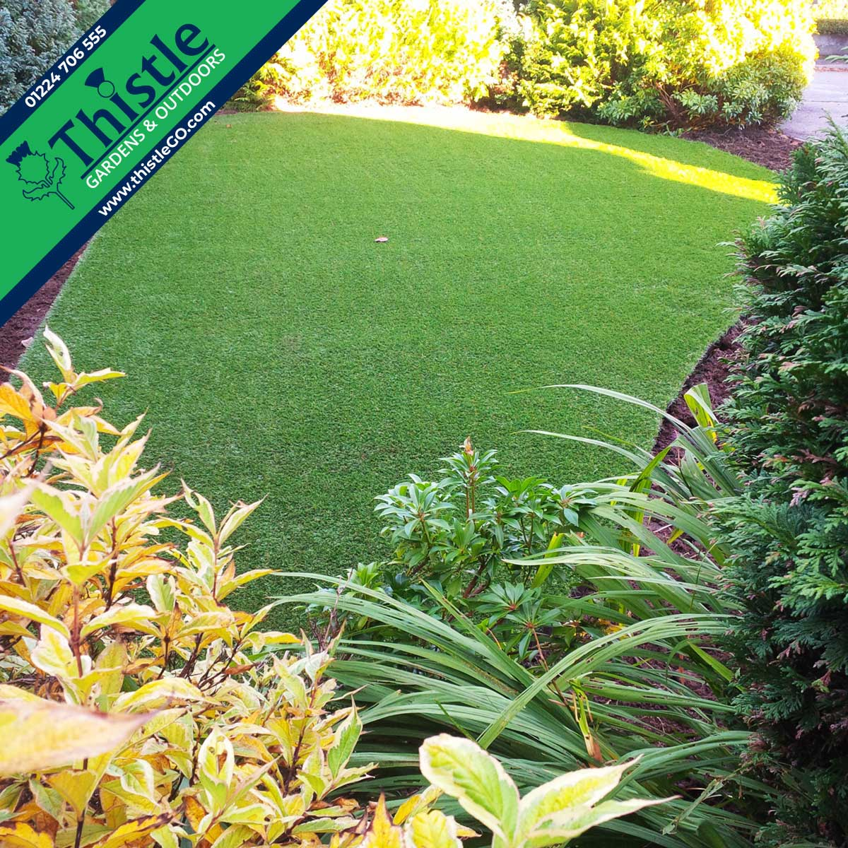 Thistle Artificial Grass Aberdeen, Aberdeenshire & North East Scotland: Front Gardens