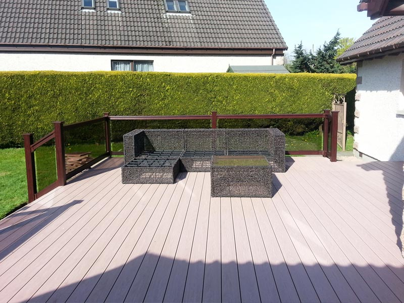 Thistle Low-Maintenance uPVC Decking