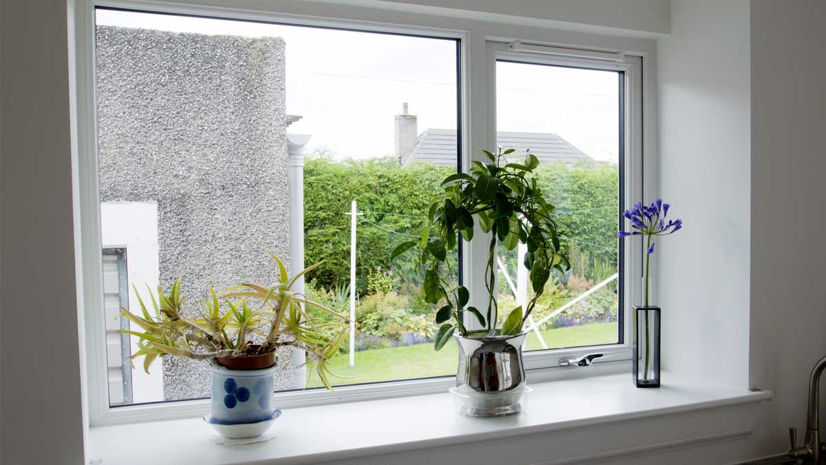 Double Glazing Aberdeen, Aberdeenshire & North East Scotland: Top Hung uPVC Windows by THISTLE