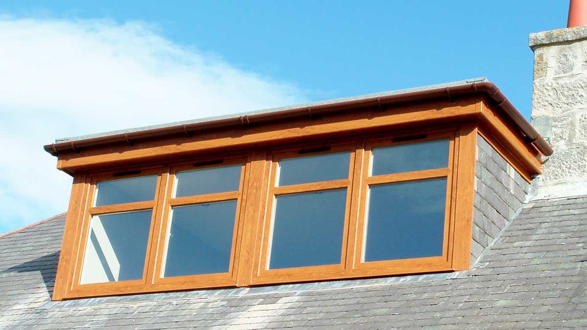 Double Glazing Aberdeen, Aberdeenshire & North East Scotland: uPVC Dormer Windows by THISTLE