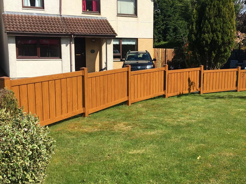 Thistle Low-Maintenance uPVC Fencing