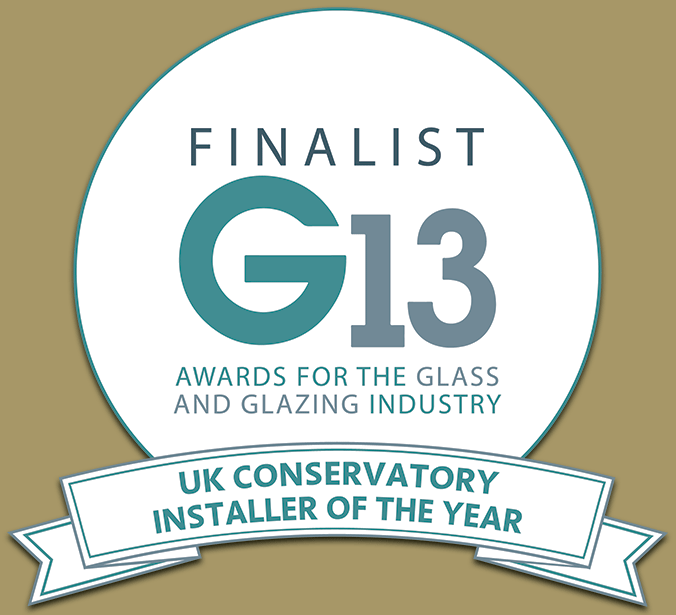 G13 UK Glass & Glazing Industry Awards: Conservatory Installer Of The Year Finalist