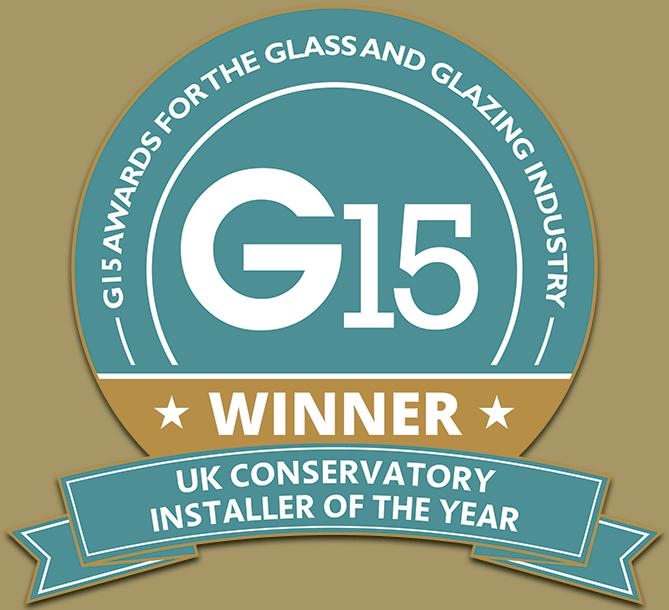 G15 UK Glass & Glazing Industry Awards: Conservatory Installer Of The Year Winner