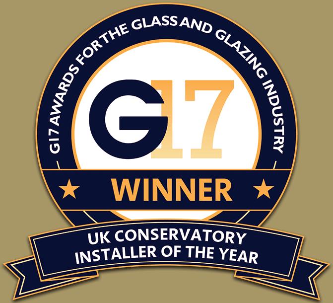 G17 UK Glass & Glazing Industry Awards: Conservatory Installer Of The Year Award Winner