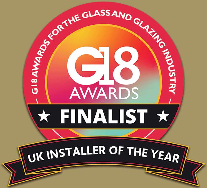 G18 UK Glass & Glazing Industry Awards: Installer Of The Year Award Finalist