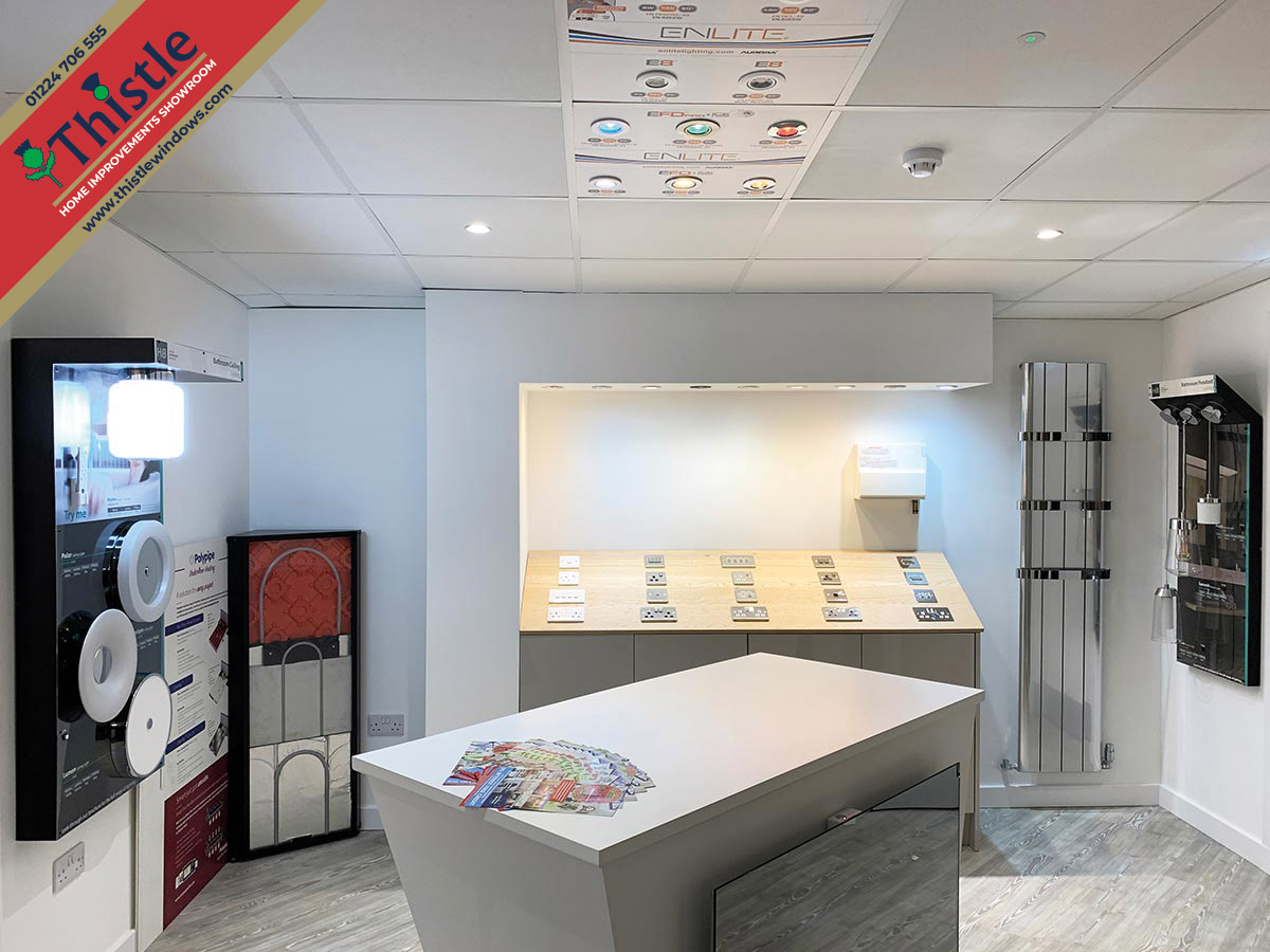 Thistle Home Improvements Showroom Aberdeen: Home Electrical Services