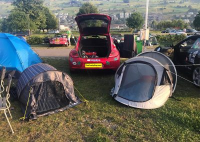 Keyline Rally 2019 Day 2: A spot of camping near the Swiss/Italian border