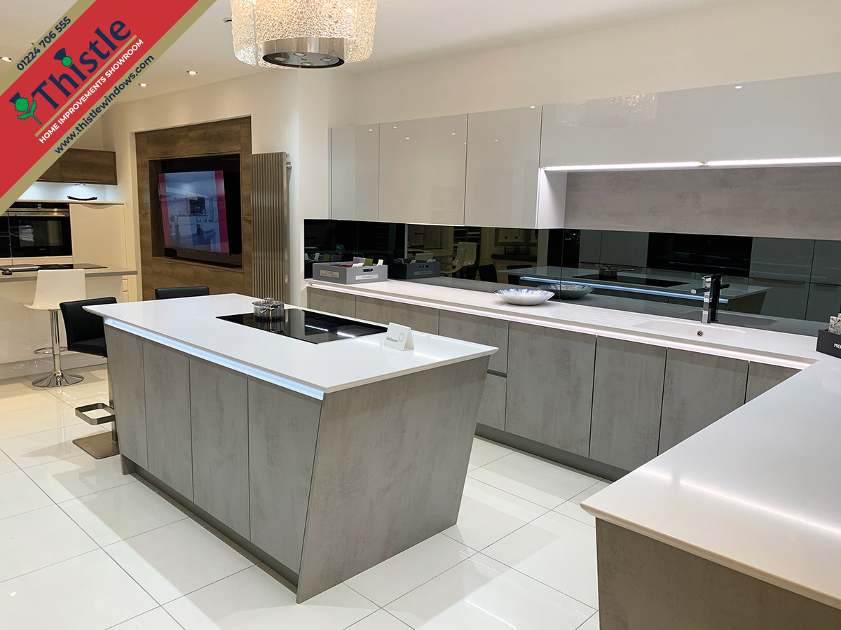 Thistle Home Improvements Showroom Aberdeen: High-Quality Kitchens