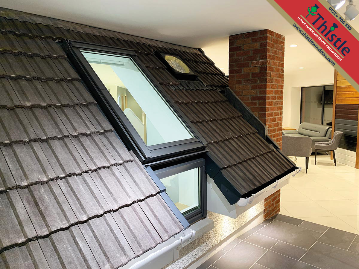 Thistle Home Improvements Showroom Aberdeen: Roofline & Cladding