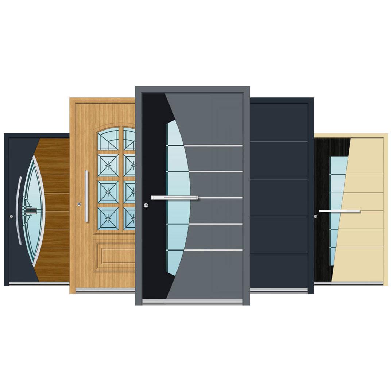 Spitfire Aluminium Doors: S-500 Series Doors