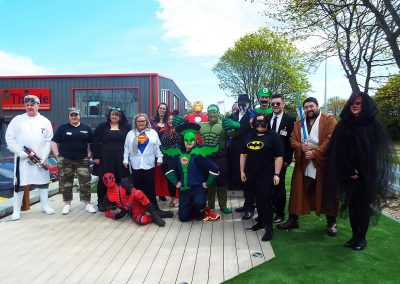Cash For Kids Superhero Day 2019: Sponsored by Thistle Windows & Conservatories Ltd