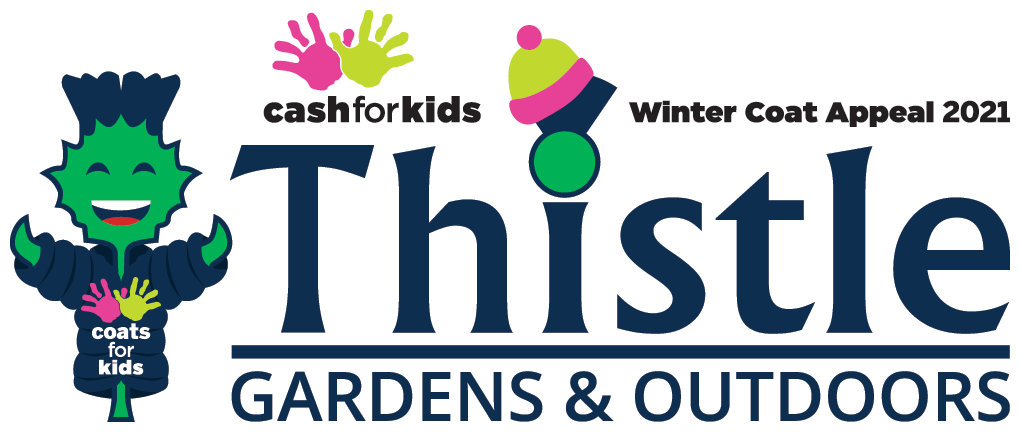 Thistle Gardens & Outdoors: Proud sponsors of Northsound Cash For Kids Winter Coat Appeal 2021