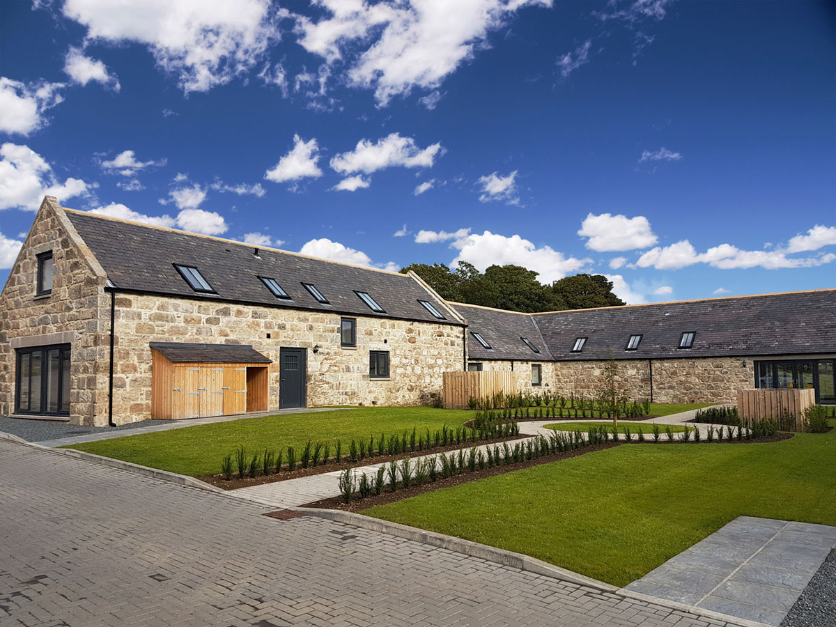 Cranfield by Thistle Homes: High Specification 3 & 4 Bedroom Steading Conversions