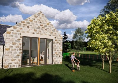 Cranfield by Thistle Homes, Plot 3: 4-Bedroom Steading Conversion
