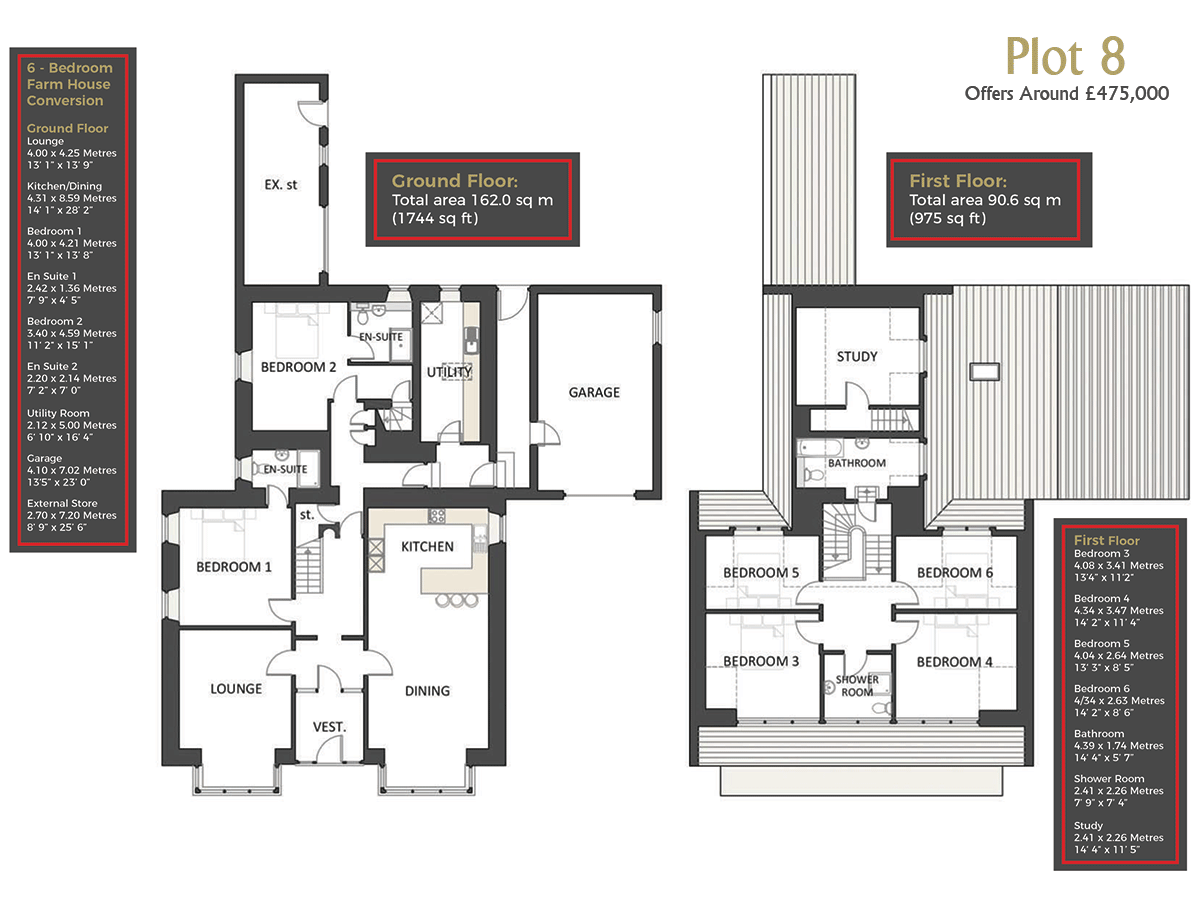 Cranfield by Thistle Homes: Plot 8 Floor Plan