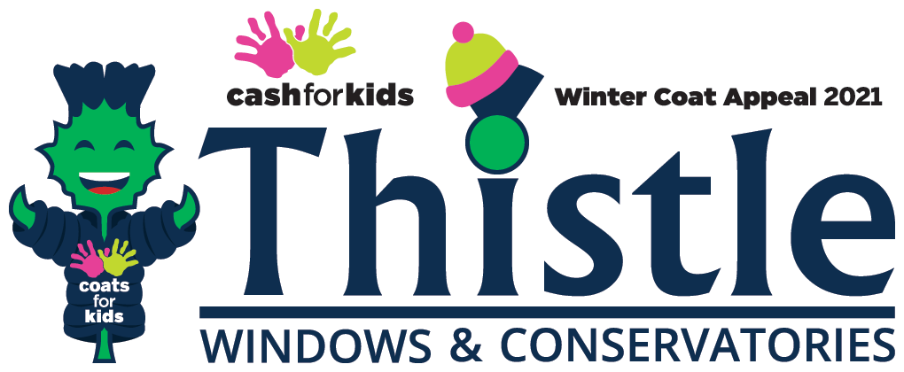 Thistle Windows & Conservatories: Proud sponsors of Northsound Cash For Kids Winter Coat Appeal 2021