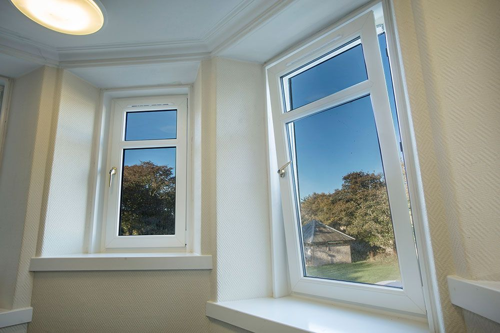 Double Glazing Aberdeen: uPVC Tilt and Turn Windows