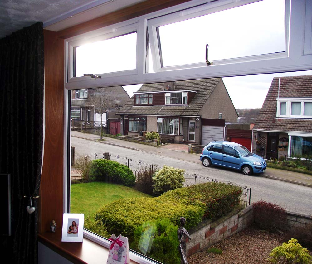 Double Glazing Aberdeen: Top Opener uPVC Windows