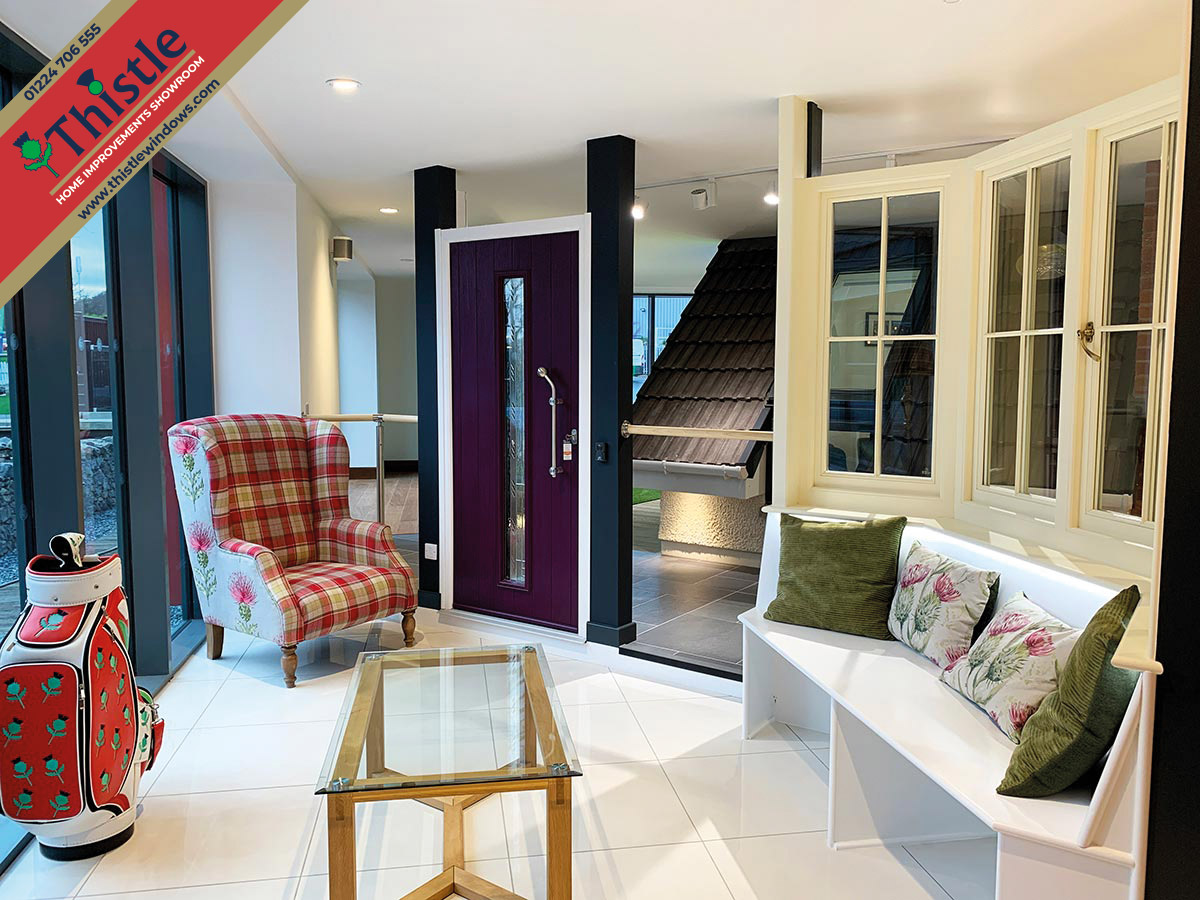 Thistle Home Improvements Showroom Aberdeen: Windows & Doors