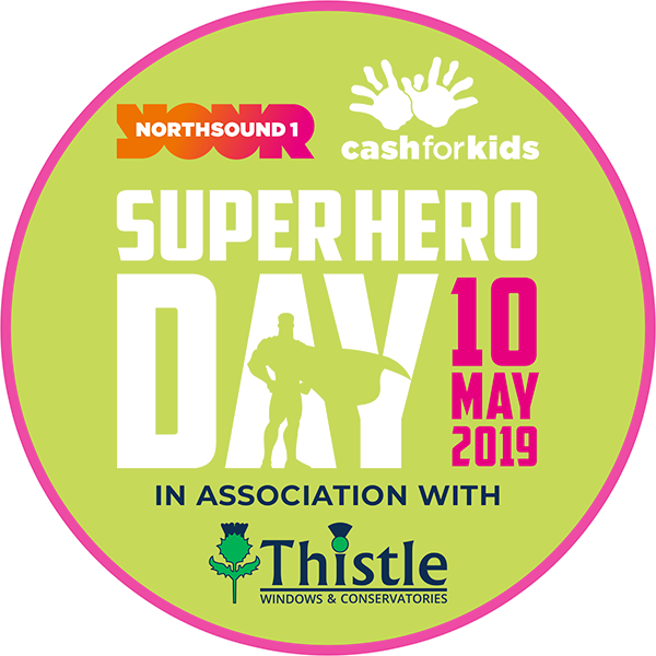 Cash For Kids Superhero Day 2019: Sponsored by Thistle Windows Aberdeen